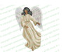 Spirit Angel Funeral Clipart dark skin