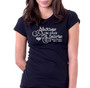 Always In Our Hearts Glitter In Loving Memory Shirt black