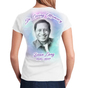 Brush Strokes 2-Sided In Loving Memory Shirts ladies back view