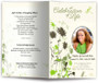dragonfly funeral program template