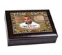Baseball Jewel Music In Loving Memory Memorial Keepsake Box