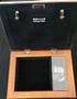 Amethyst Wooden Music Memorial Keepsake Box inside view