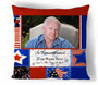 Americana In Loving Memory Toss Pillow