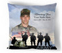 Army In Loving Memory Memorial Pillows