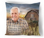 Barn In Loving Memory Memorial Pillows