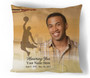 Basketball In Loving Memory Memorial Pillows