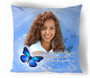 Butterfly In Loving Memory Toss Pillow