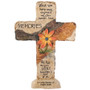 Flower Memories In Loving Memory Memorial Cross