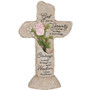 Serenity Prayer Heavenly Lights LED Memorial Cross Home Accent