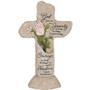 Serenity Prayer Heavenly Lights LED Memorial Cross Home Accent