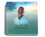 Destiny funeral guest book with photo