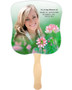 Ambrosia Cardstock Memorial Church Fans With Wooden Handle front photo