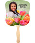 Harvest Cardstock Memorial Church Fans With Wooden Handle front photo