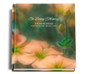 Floral funeral guest book