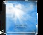 Heaven funeral guest book