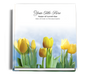 Inspire funeral guest book