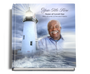 lighthouse funeral guest book with photo