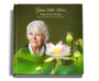 lotus funeral guest book with photo