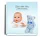 nurseryboy funeral guest book with photo