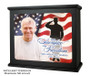 Military Patriotic In Loving Memory Photo Light Box Memorial lighted