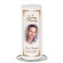Chestnut Memorial Wax Pillar Candles