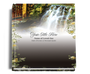 serene funeral guest book
