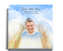 stairway funeral guest book with photo