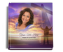 worship funeral guest book with photo