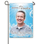 Blue Skies Personalized Memorial Garden Flag