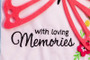 In Loving Memories Appliqué Memorial Garden Flag
