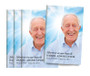 Forever Hearts Center Fold Funeral Program Design & Print
