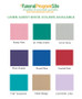 Francesca Linen Cover Guest Book (Multi Colors)