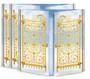 Golden Gates Gatefold Funeral Program Design & Print (Pack of 25)