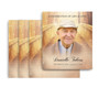 Crossing No Fold Memorial Card Design & Print (Pack of 25)