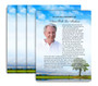 Treasure No Fold Funeral Flyer Design & Print (Pack of 25)