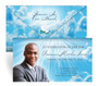 Cloudscape Envelope Fold Funeral Program Design & Print