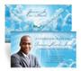 Cloudscape Envelope Fold Funeral Program Design & Print (Pack of 25)