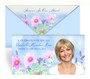 Wildflowers Envelope Fold Funeral Program Design & Print (Pack of 25)