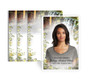 Serene Funeral Prayer Card Design & Print (Pack of 25)
