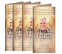 Crossing Long Fold Funeral Program Design & Print (Pack of 25)