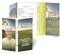 Sunset Breeze Gatefold/Graduated Combo Funeral Program Design & Print (Pack of 25)