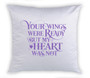 Gradient Memorial Magic Swipe Reversible Mermaid Sequin Pillow