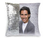 Dash Memorial Magic Swipe Reversible Mermaid Sequin Pillow