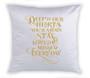 Sunset Memorial Magic Swipe Reversible Mermaid Sequin Pillow