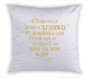 Adoration Memorial Magic Swipe Reversible Mermaid Sequin Pillow
