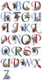 Personalized Angel Alphabet Embroidered In Memory Of Patch