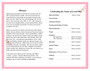 Magnolia Funeral Program Template inside view