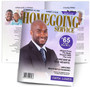 Homegoing Service Magazine Style Funeral Booklet Template