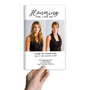 Duo Photo Funeral Program Template front view