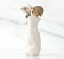 Beautiful Wishes Willow Tree® Figurine back view